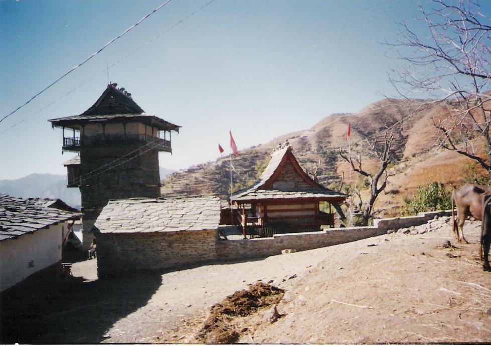 Shiv Mandir at Leu
